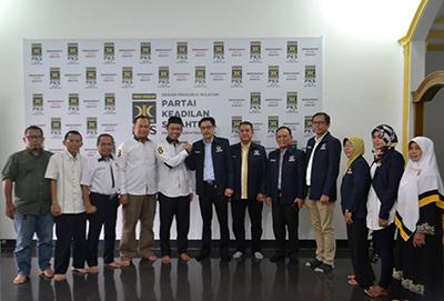 Kunjungi PKS Sumut, Ketua Nasdem Sumut: Kader PKS Militan