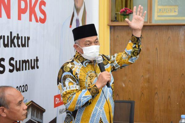 Presiden PKS kepada Kader di Sumut: Waspadai Politik Uang Jelang Pencoblosan