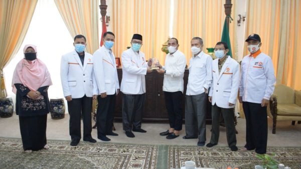 Silaturrahim dengan Gubsu, PKS Komitmen Bangun Sinergi Melayani Rakyat