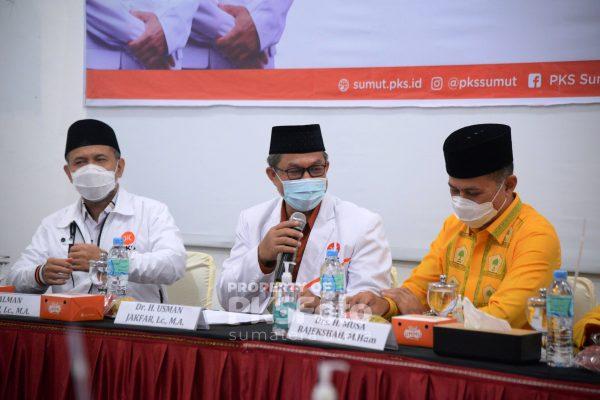 Terima Kunjungan Golkar, PKS Sumut Siap Bangun Komunikasi yang Baik dalam Berdemokrasi