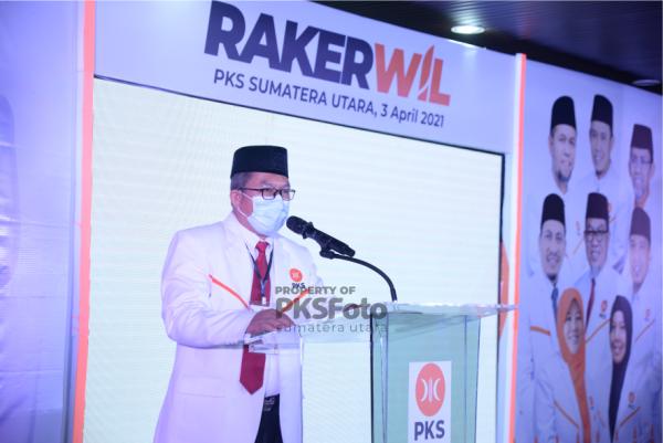 Puncak Rakerwil, Usman Jakfar: PKS Siap Kolaborasi dengan Semua Elemen Bangsa