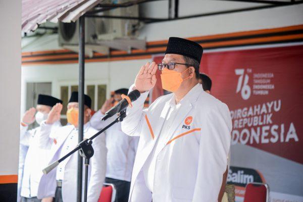 Gelar Upacara Bendera HUT ke-76 RI, ini Amanat Usman Jakfar
