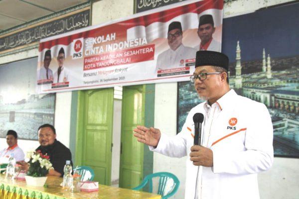 Usman Jakfar Ajak Seluruh Anggota PKS Tanjungbalai Semangat dalam Melayani Masyarakat