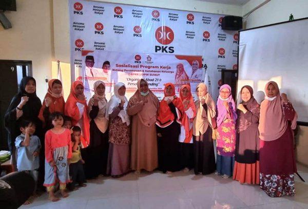 PKS Sumut Gelar Sosialisasi Program Kerja Bidang Perempuan dan Ketahanan Keluarga